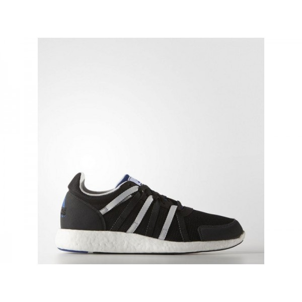 Adidas Herren EQT Originals Schuhe - Black/Grey/Collegiate Royal