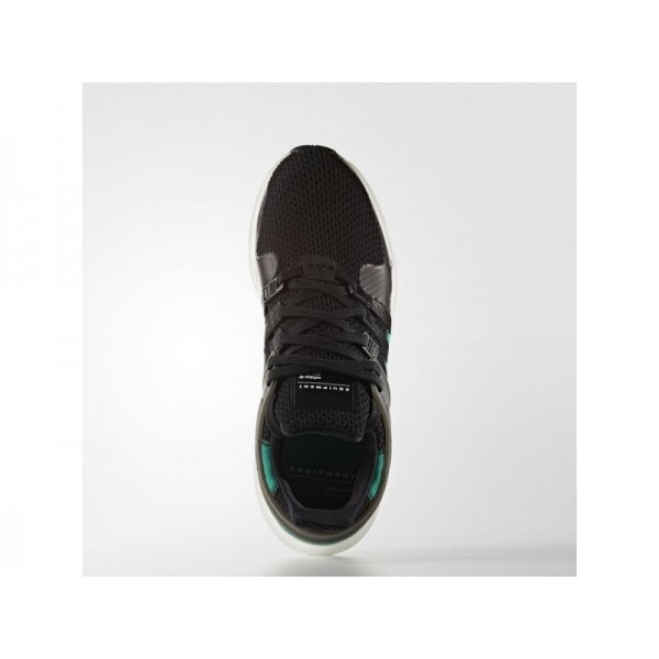 Adidas Herren EQT Originals Schuhe - Black/Sub Green S13/Vintage White S15-St
