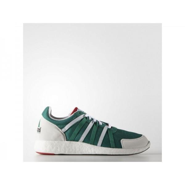 Adidas Herren EQT Originals Schuhe - Sub Green/White/Collegiate Red