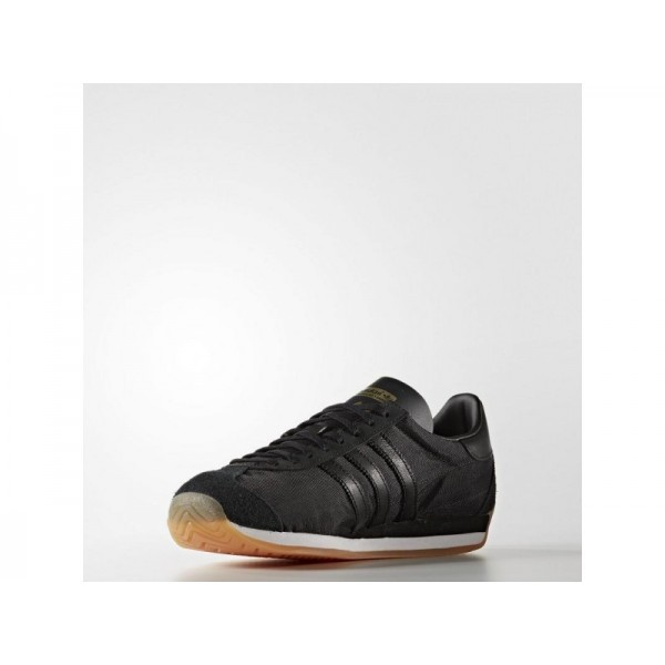 Adidas Country OG für Herren Originals Schuhe - Black/Black/Ftwr White