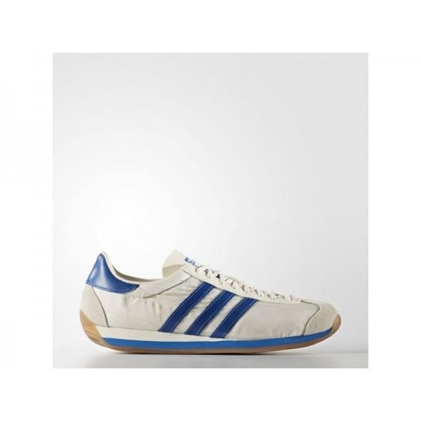 Adidas Country OG für Herren Originals Schuhe - Chalk White/Bluebird/Cream White