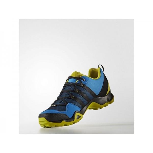 Adidas AX für Herren Outdoor Schuhe - Unity Blue F16/Black/Unity Lime F16