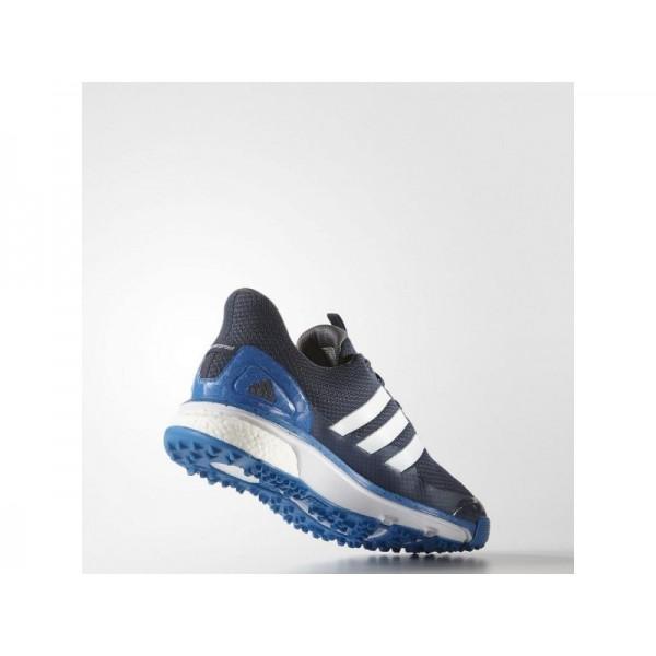 Adidas Adicross für Herren Golf Schuhe - Blue/White/Shock Blue Adidas F33220
