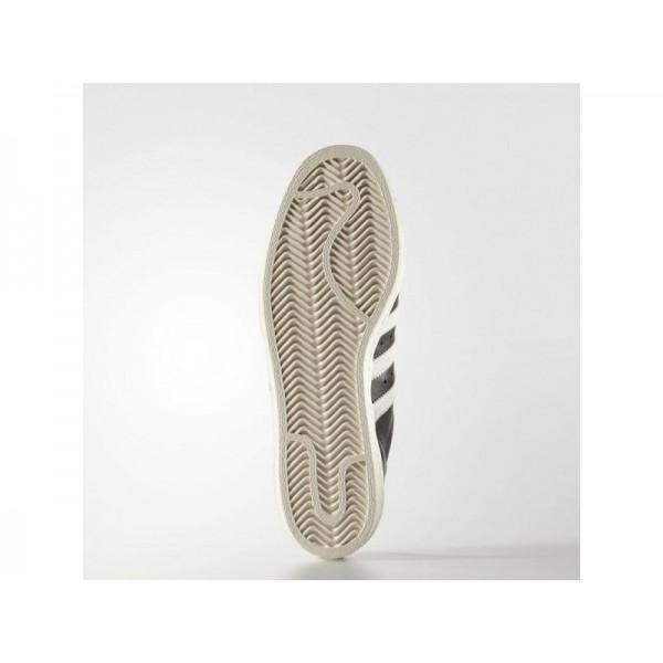 Originalsschuhe Adidas 'Superstar 80s' Schwarz/Weiß/Chalk White Schuhe für Herren