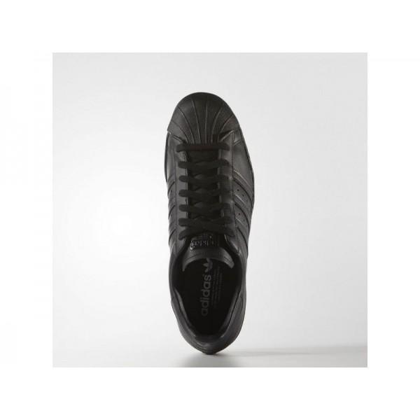 Originalsschuhe Adidas 'Superstar '80s' Schwarz/Weiß Schuhe für Herren