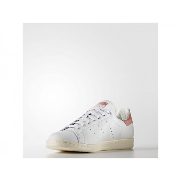 adidas Originals STAN SMITH Herren Schuhe - Weiß/Ray Rosa F16