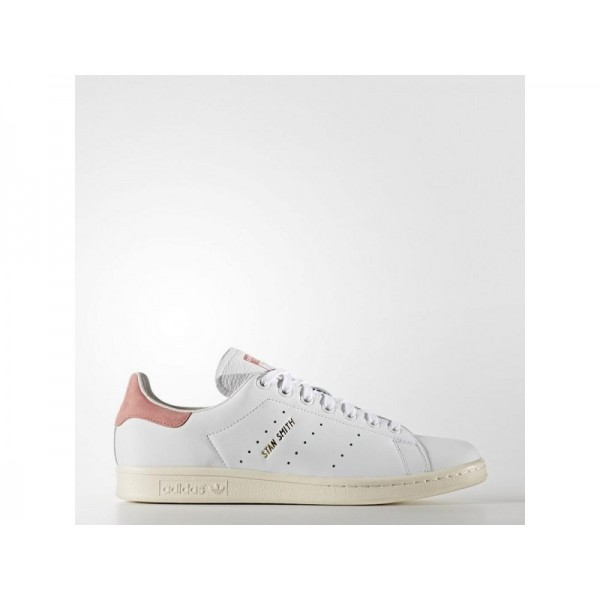 adidas Originals STAN SMITH Herren Schuhe - Weiß/Ray Rosa F16