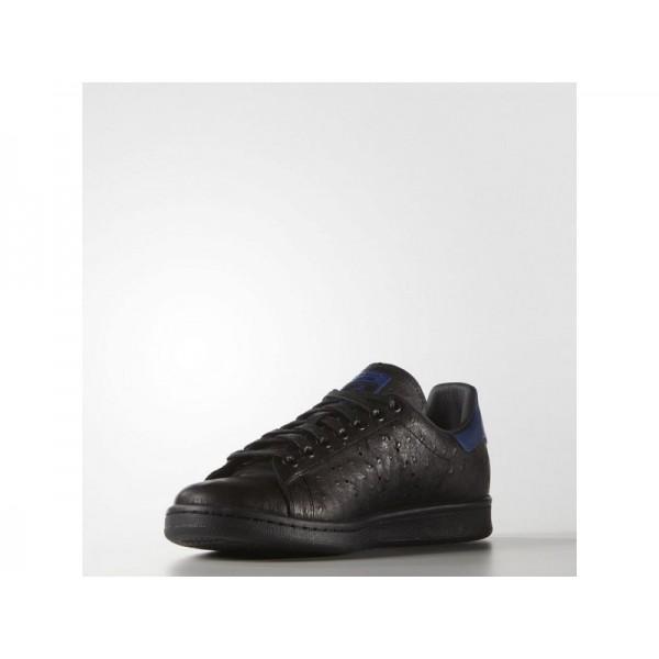 Originalsschuhe Adidas 'Stan Smith' Schwarz/Königsblau für Herren Schuhe