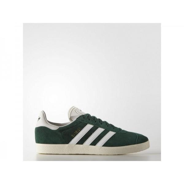 Originalsschuhe Adidas 'Gazelle' Collegiate Grün/Altweiß S15-St/Gold Met. Schuhe für Herren