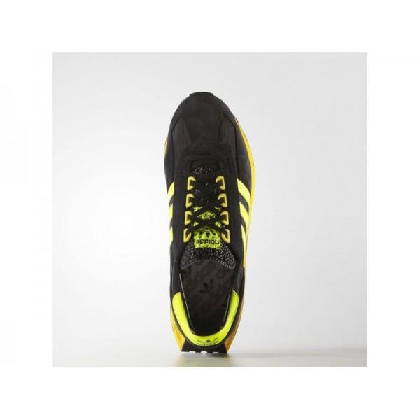 Originalsschuhe Adidas 'Formel 1' Schwarz/Solar-Gelb/Schwarz-Schuhe für Herren