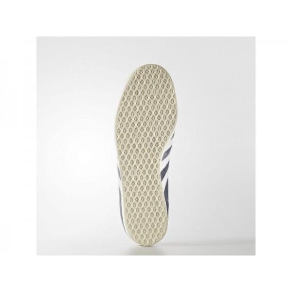 adidas Originals GAZELLE Herren Schuhe - Nemesis/Altweiß S15-St/Gold Met.