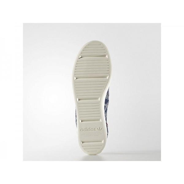 Originalsschuhe Adidas 'Court Vantage Primeknit' Blau/Blau/Weiß Kreide Schuhe für Herren