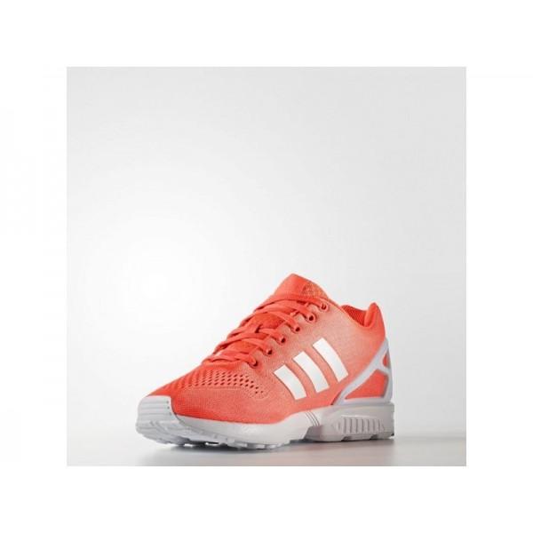 adidas Originals ZX FLUX EM Herren Schuhe - Solar-Rot/Weiß/Solar-Rot
