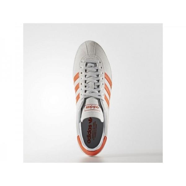 Originalsschuhe Adidas 'Topanga' Klar Grau/Collegiate Orange/Weiß FTWR Schuhe für Herren