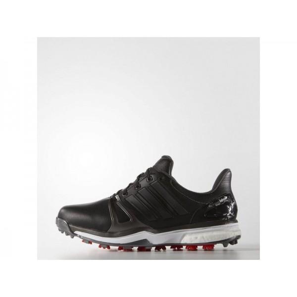 Adidas Herren Adicross Golf Schuhe Verkaufen - White/Silver Metallic/Black