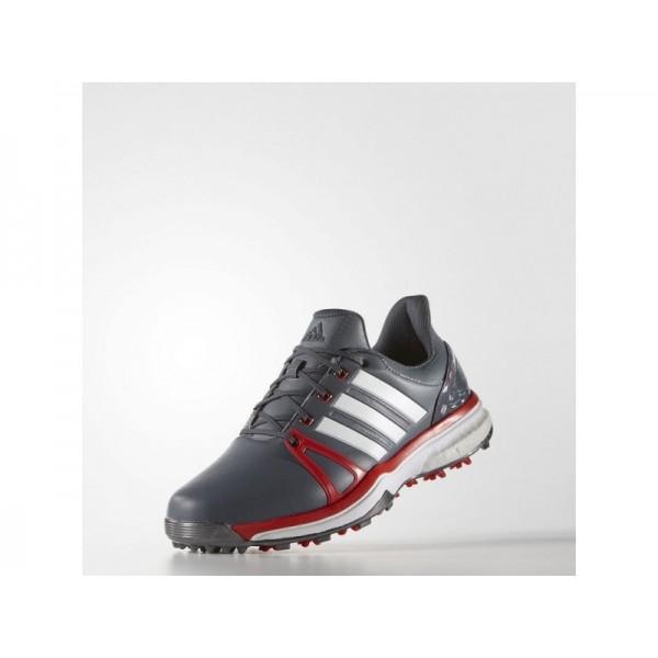 Adidas Herren Adicross Golf Schuhe - Onyx/Red/White Adidas Q44663