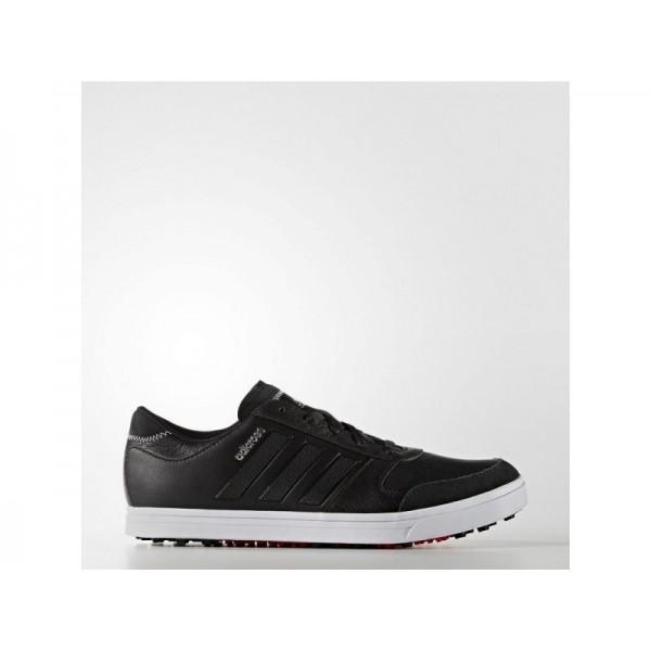Adidas Herren Adicross Golf Schuhe - Black/Black/Ray Red F16