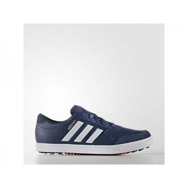 Adidas Herren Adicross Golf Schuhe - Mineral Blue S16/Ftwr White/Ray Red F16