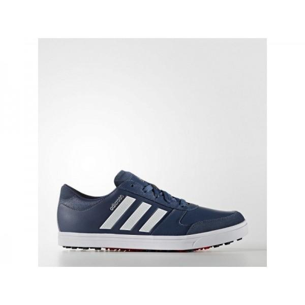 Adidas Herren Adicross Golf Schuhe Online - Ftwr White/Onix/Ray Red F16