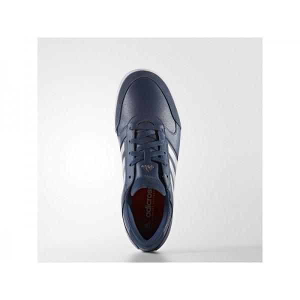 Adidas Herren Adicross Golf Schuhe - Mineral Blue S16/Ftwr White/Ray Red F16