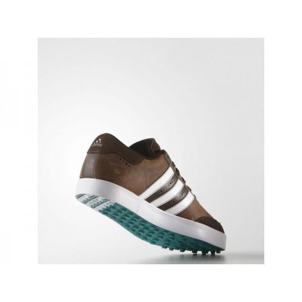 Adidas Adicross für Herren Golf Schuhe - Brown/White/Green Adidas F33428