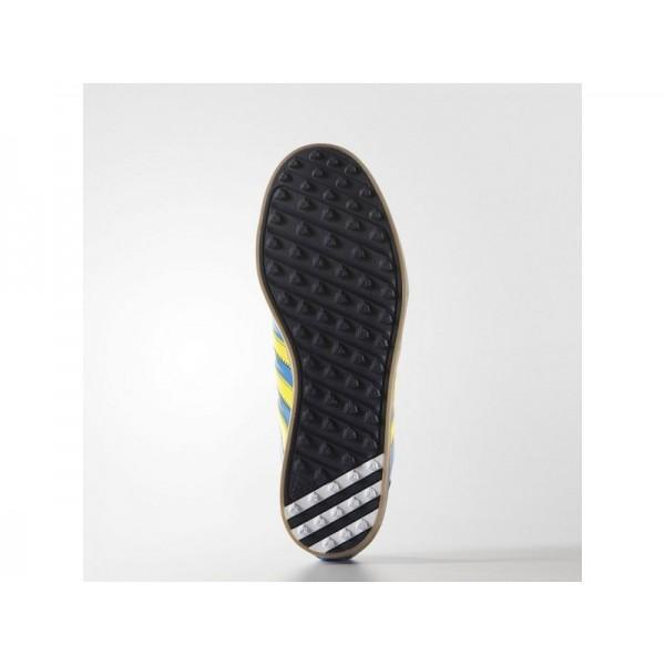 Adidas Adicross für Herren Golf Schuhe - Bright Blue/Bright Yellow/Beige Adidas F33421