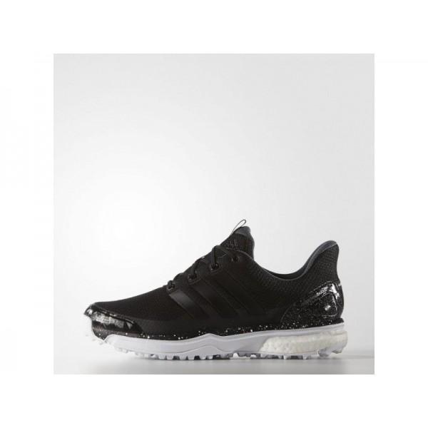 Adidas Herren Adicross Golf Schuhe - Black/White Adidas F33216