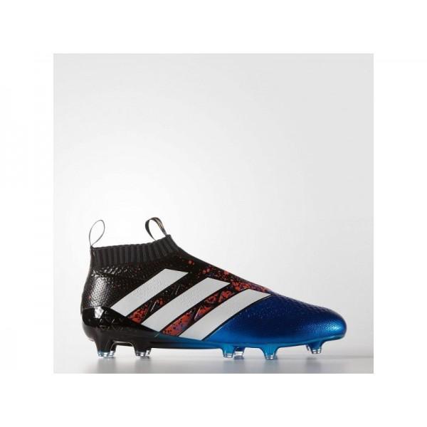 Adidas ACE 16 für Herren Fußball Schuhe - Black/Ftwr White/Shock Blue S16