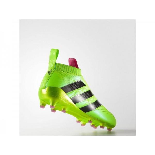 Adidas ACE 16 für Herren Fußball Schuhe - Solar Green/Shock Pink/Black