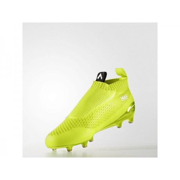 Adidas ACE 16 für Herren Fußball Schuhe - Solar Yellow/Black/Silver Met. Adidas AQ3805