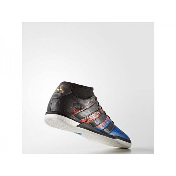 Adidas ACE 16 für Herren Fußball Schuhe - Black/Black/Solar Red
