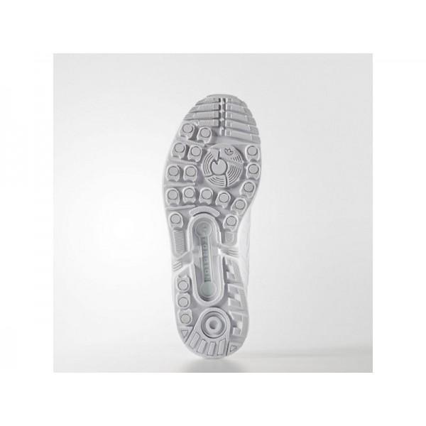 Adidas ZX Flux für Damen Originals Schuhe Online - Ftwr White/Ftwr White/Black Adidas S76590