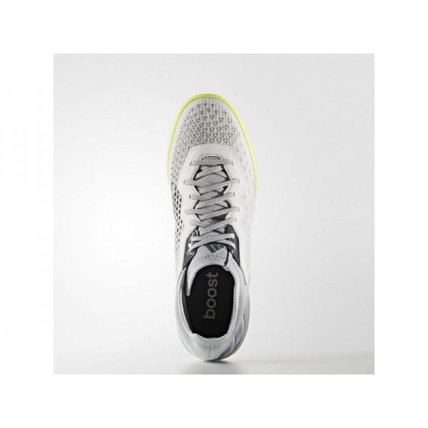 Adidas ACE 16 für Herren Fußball Schuhe - Crystal White S16/Onix/Solar Yellow