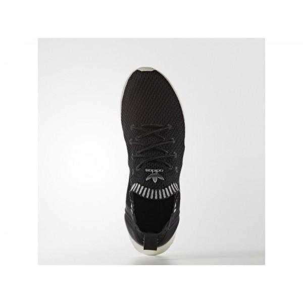 Adidas ZX Flux für Damen Originals Schuhe - Black/White/Metallic Silver-Sld