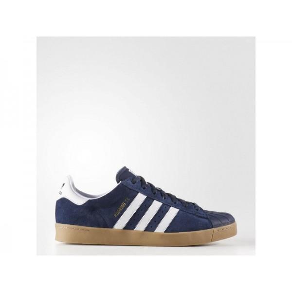 Originalsschuhe Adidas 'Superstar Vulc ADV' Collegiate Navy/FTWR Weiß/Gum4 für Herren Schuhe