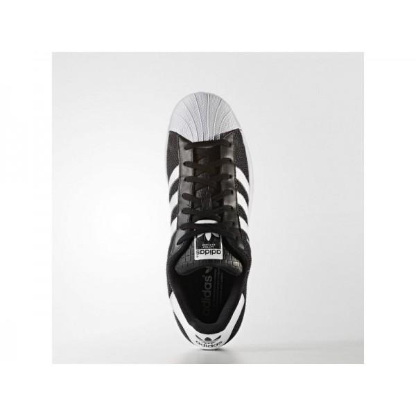 Originalsschuhe Adidas 'Superstar' Schwarz/FTWR Weiß/Weiß FTWR Schuhe für Herren