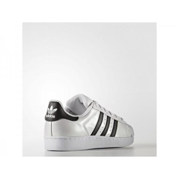 adidas Originals SUPERSTAR Herren Schuhe - Weiß/Schwarz/Schwarz