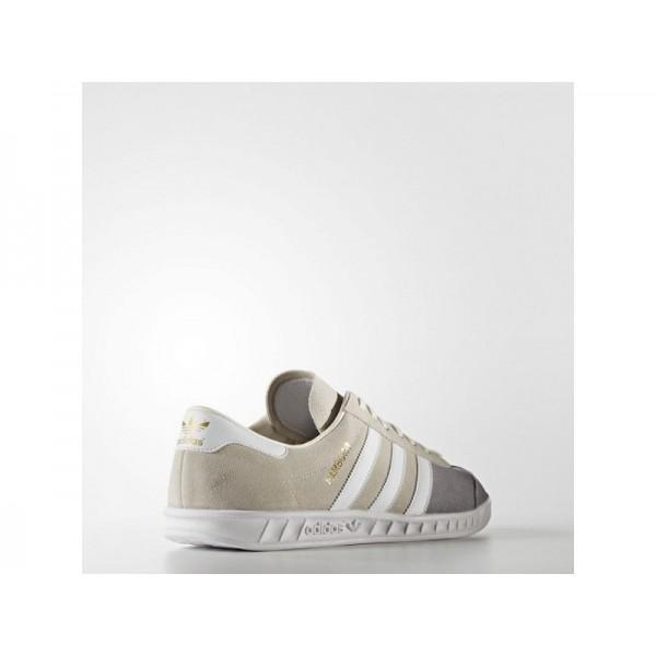 Originalsschuhe Adidas 'Hamburg' Kreide Weiß/FTWR Weiß/Pearl Grey S14 Schuhe für Herren