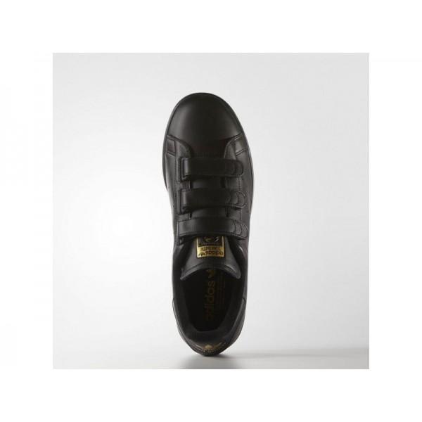 Originalsschuhe Adidas 'Stan Smith' Schwarz/Gold Metallic Schuhe für Herren