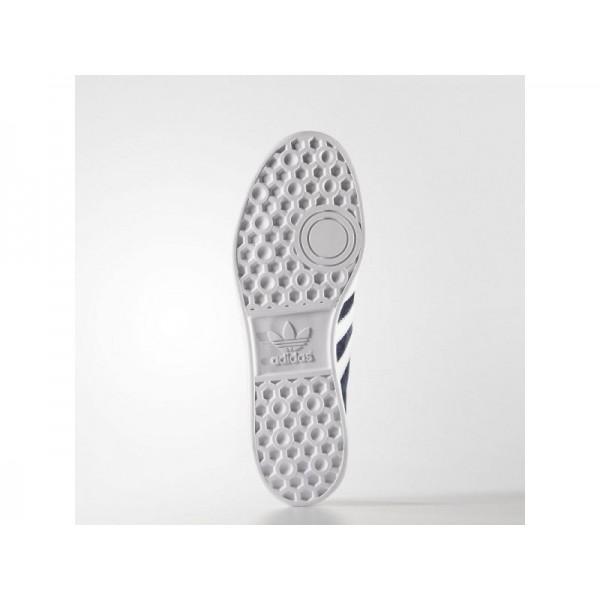 Originalsschuhe Adidas 'Hamburg' Collegiate Navy/Weiß/Gold Metallic für Herren Schuhe
