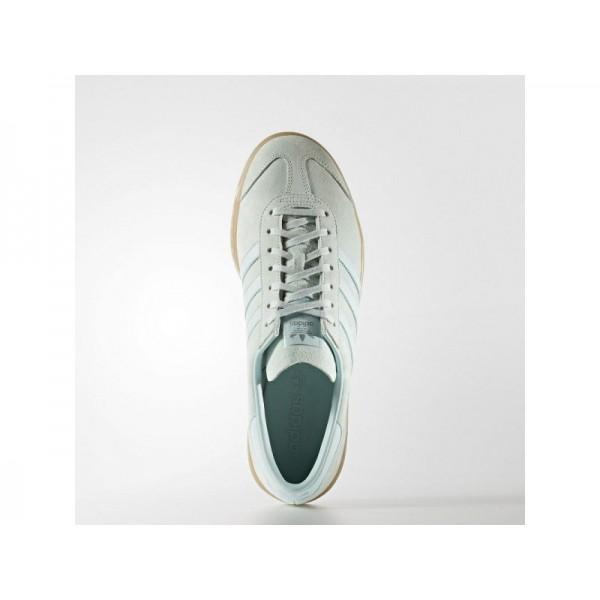 adidas Originals HAMBURG Herren Schuhe - Dampf Grün F16/Ice Mint F16/Gum4