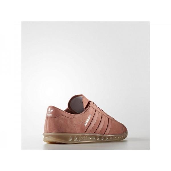 adidas Originals HAMBURG Herren Schuhe - Raw Rosa F15/Raw Rosa F15/Gum4