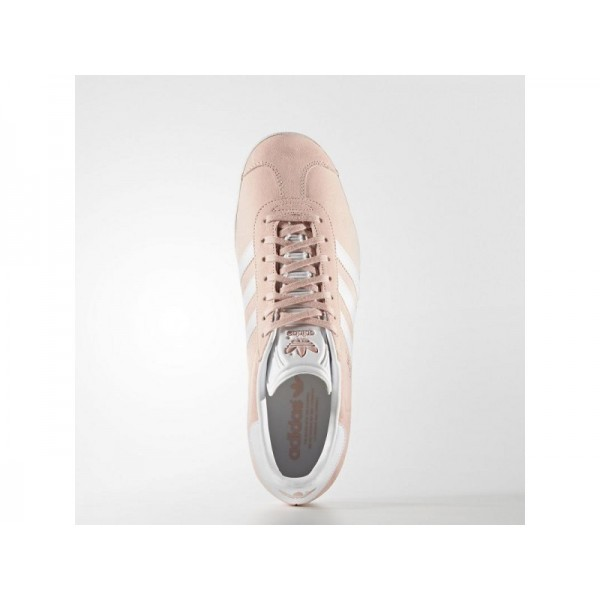 adidas Originals GAZELLE Herren Schuhe - Dampf Rosa F16/Weiß/Gold Met.