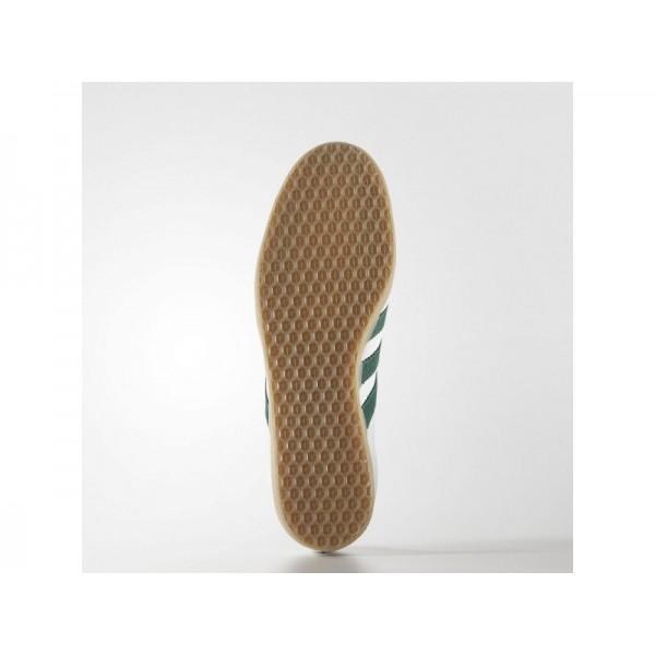 adidas Originals GAZELLE Herren Schuhe - Altweiß S15-St/Collegiate Grün/Gum4
