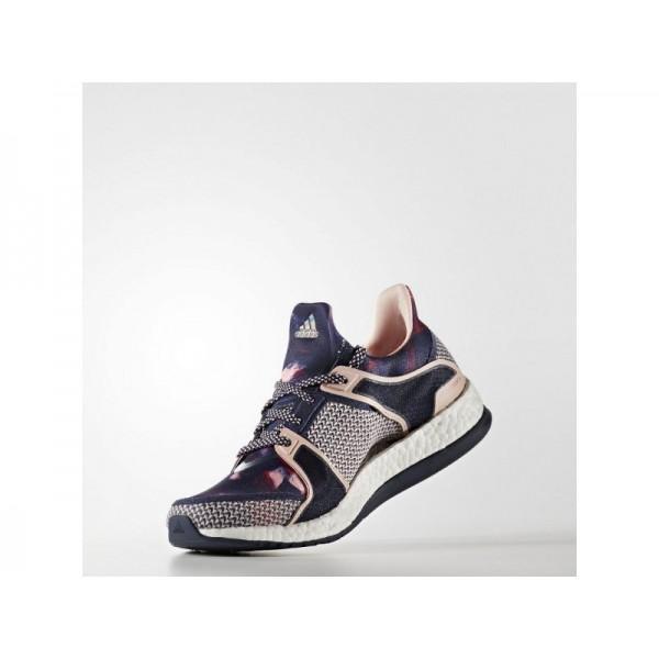 PURE BOOST X TRAINING adidas Damen Training Schuhe - Collegiate Navy/Dampf Rosa F16/Ray Red F16
