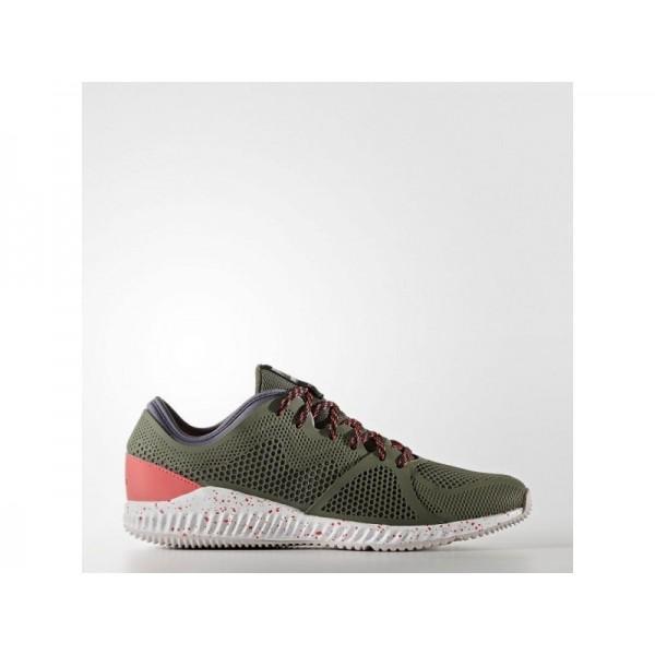 CRAZYMOVE BOUNCE adidas Damen Training Schuhe - Base-Grün S15/Kern Schwarz/Shock Red S16