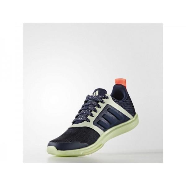 ADIDAS STELLASPORT YVORI adidas Damen Training Schuhe - Nacht Indigo/Nacht Indigo/Blitz Red S15