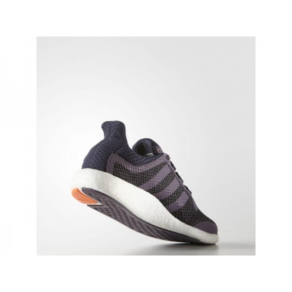 PURE BOOST adidas Damen Running Schuhe - Ash Lila/Mitternachtsgrau
