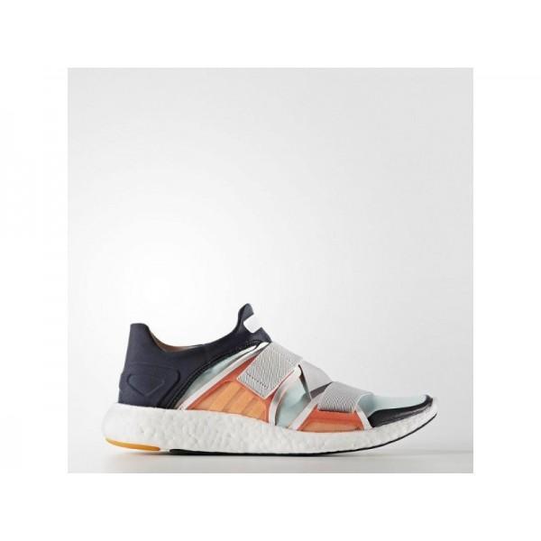 PURE BOOST adidas Damen Training Schuhe - Nacht Navy/Solar Orange/Radiant Gold-F10