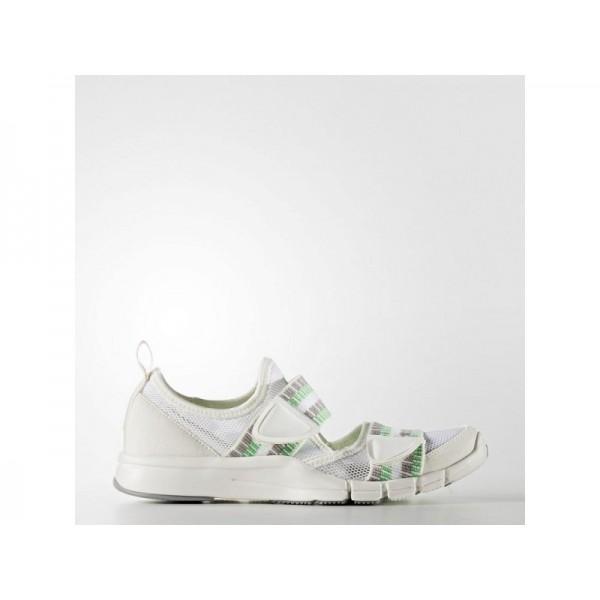 ADIDAS STELLASPORT ZILIA adidas Damen Training Schuhe - Weiß/Käftiges Gün S44/Wiß Sapour R1S